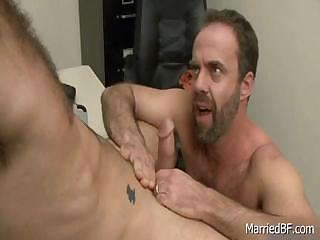 Pierced and hairy lady's man gets sucked part6