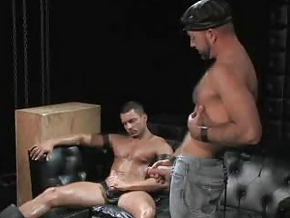 Angelo Marconi Fucked Apart from Hairy Confessor Josh West
