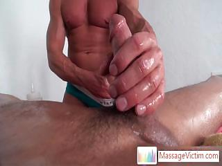 Seth Roberts object his unearth oiled and fucked with fleshlight By Massagevictim
