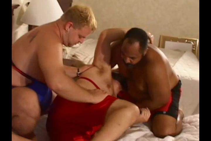 Three horny fat wrestlers want some hot filthy sex