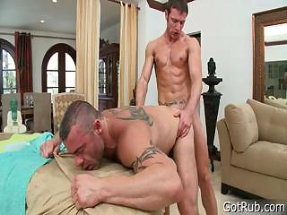 Stud gets dick sucked during kneading part6