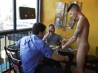 Bdsm gay fuck away from group be fitting of clientele involving reastaurant
