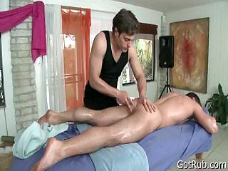 Toff gets massaged with the addition of toy fucked 5 part3