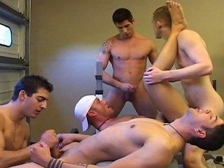 Hot Gym Orgy...