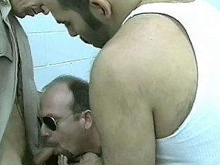 Hard assed keep fast warden Paul Carrigan enjoys harassing his prisoners....