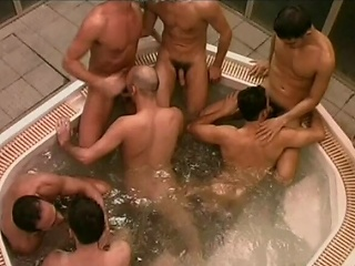 This unselfish whirlpool is host to a sum total of randy Italian men who...