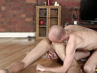 Lucas Davidson gets anally abused and pie-eyed in! - Lucas Davidson And Kiron Manly