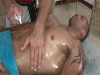 Fine Bro Gets Superb Limp-wristed Rub-down 13 By GotRub