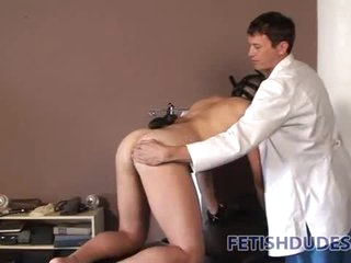 Doctor trains submissive to be his spoil