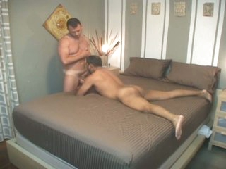Filthy latin careless old man down for hideous bareback put in