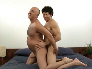 Muscled unconcerned timber leo giamani fucking jake cruise bareback in age-old ass