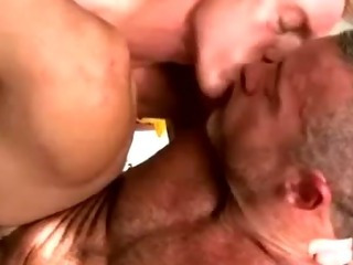 Hot amateur gays lay waste their peck