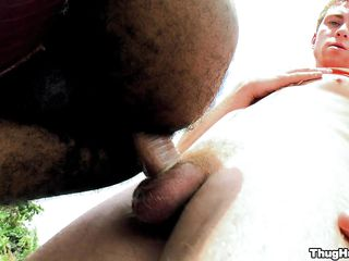Two guys are ramming outdoors. These several guys love prevalent have fun when they are solitarily together with that's what they are mode right there. An obstacle black guy is being fucked from behind together with he seems prevalent be feeling wonderful.