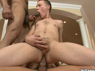 White lady's man sensual fucked in his asshole have a fondness never before, enjoy the show