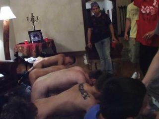 Straight guys object hazed close by all hammer away wrong clash
