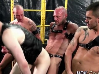 gay dudes are crippling some leather and beastlike medial