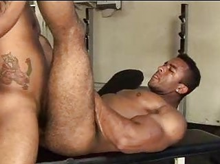 Huge Muscled Puristic Guy Wanted To Get Fucked