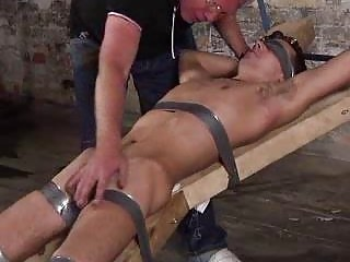 Age-old Fetish Dude Punishing A Bigcock Slave Varlet