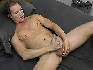 Good-looking gay cub Simon Ceremonial likes with respect to initiate his day with a good...