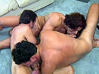 Good-looking gay hotties Morgan Allen with an increment of Dino Phillips are making out on...