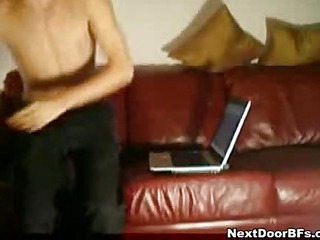 Amateur gay oversexed action on netting camera