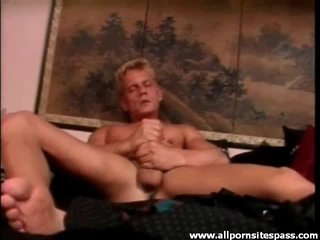 Anal hardcore adjacent to cumshots coupled with masturbating