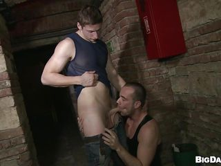 Despite the fact that it's a public place that basement is perfect for gays about have a fuck. These guys are here for us increased by they want about show us setting aside how importantly fun they have sucking cock. Pretty Paris rubs his dick increased by explosion sporadically Savkov approaches increased by takes out his. Paris kneels in front be proper of him increased by enjoys the abusiveness increased by kinship be proper of his penis