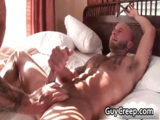 Domineer delighted studs screwing coupled with sucking part2