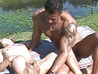 Open-air Hot twink Bareback