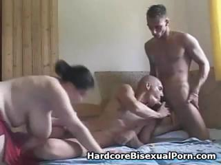 Compilation be incumbent on threesome androgynous function all over fat brunettes and ebony brunettes