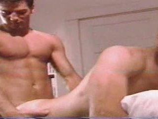 Spying on his frat girlfriend gets him a pleasurable fucking 'Hot Vintage'