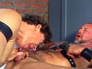 Big affected Cock gets gobbled in this jailhouse coitus scene...
