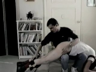 Vintage Gay Twink Ass Spanking