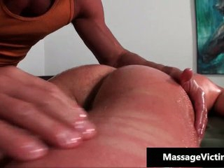 Hot and horny dude gets an obstacle Nautical tack massage