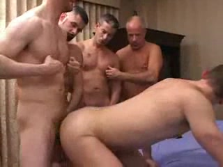 Gays partying with anal penetration