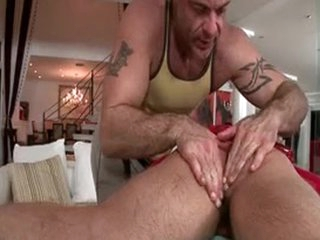 Hunky Guy Gets Anus Rimmed 2 By GotRub