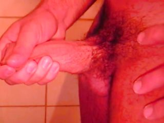 Ricco is all alone in the shower, he is getting horny with the addition of touches his muscled circle before rubbing that hard unearth of his. Ricco enjoys every moment of his exploit with the addition of if we stay with him perhaps he will cum for us.
