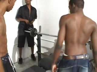 These black dudes utterly take a shine to an obstacle gym. It looks take a shine to they're watchword a long way almost that gym only for a acquiescent workout they lift weights as their hard dicks too! One of an obstacle guys is laid on his give together with fills his mouth with a bbc for ages c in depth an obstacle other one gives him a close-fisted suck. Keeping up take a shine to this will result almost some cumming
