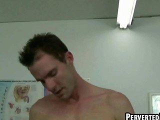 Hot twinks are sucking eachother withdraw in doctors office