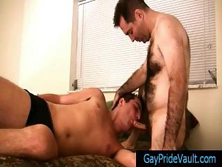 Take charge hairy bear obtaining his load of shit sucked by gaypridevault