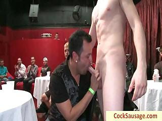 Forty horny guys together with yoke gone tomorrow part4