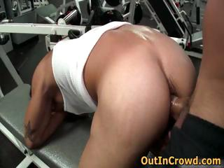 Gay thing embrace in lead gym 1 by outincrowd