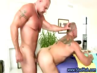Of age elated masseur assfucks hunky publicly coxcomb