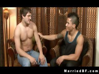 Andrew and Dante gay asshole rimming part2