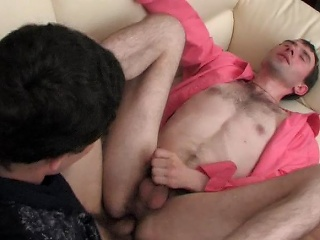 Eager straight bloke doesn't repel keen gay select his burning...