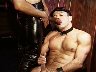Beloved Williams fucked by  leather confessor Mondo Moore right up his...