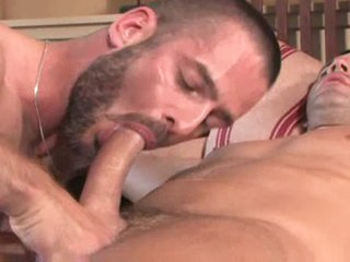Gay fingering and fixed anal pounding