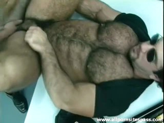 Thick hairy bear with husky body ass fucked