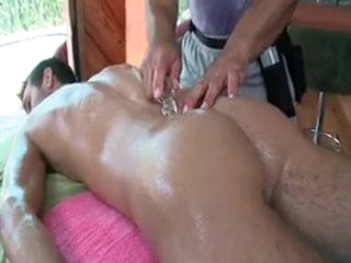 Coxcomb Getting Oiled Up Be fitting of Some Anal Massage Off out of one's mind Gotrub
