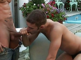 He enjoys sucking his huge natural personally before assfingering